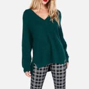 Express Deep V-Neck Sweater - NWOT